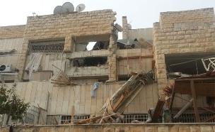 פיצוץ בלון הגז בשכונת גילה, ארכיון (צילום: יוסי זילברמן, חדשות 2)
