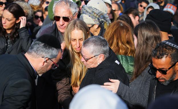 הלוויה של איתי מור (צילום: פלאש 90)