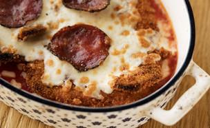 שניצה - שניצל ופיצה (צילום: אפיק גבאי, אוכל טוב)