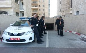 מעצר כנופיה פלסטינית. אילוסטרציה. (צילום: עזרי עמרם, חדשות 2)