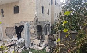 """זירת הפיצוץ בירושלים, אתמול (צילום: דוברות מד""""א)"""