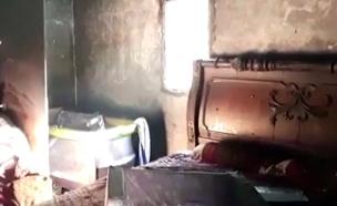 שריפה בחורה (צילום: חדשות 2)