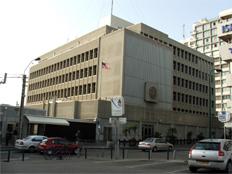 """שגרירות ארה""""ב. ממאי - בירושלים? (צילום: Krokodyl)"""