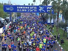 מרתון תל אביב (צילום: חדשות 2)