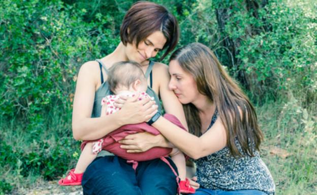 זוג אמהות לסביות (צילום: sunlight19, ShutterStock)