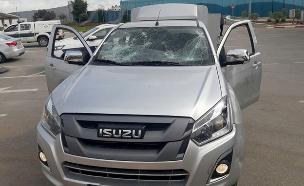הרכב של החיילת שהותקפה בג'נין (צילום: חדשות 2)