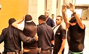 """פעילי """"לה פמיליה"""" בביהמ""""ש, ארכיון (צילום: חדשות 2)"""