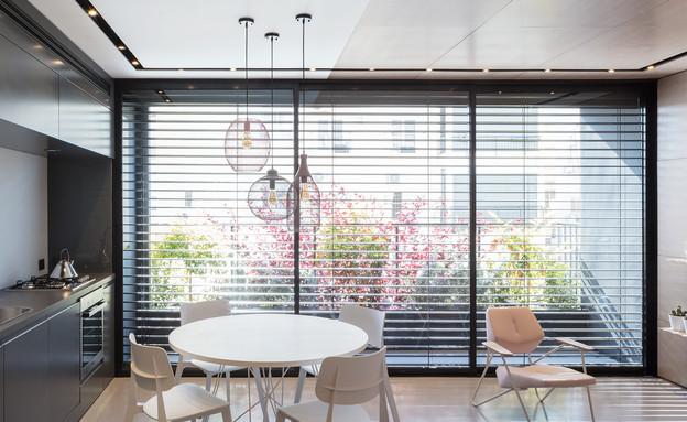 דירה בבזל, עיצוב המעצבות - ליטל רוזנשטיין, מטבח (צילום: אביעד בר נס)