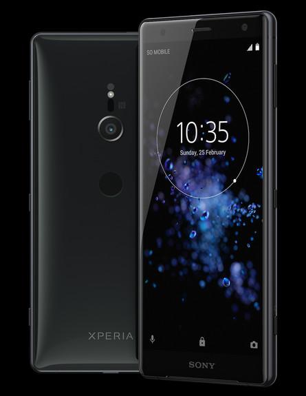 סמארטפון Xperia XZ 2 של סוני (הדמיה: יחסי ציבור, סוני)