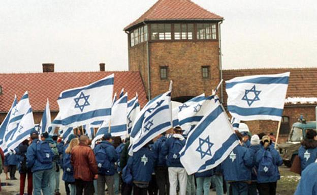 ישראלים במחנות בפולין. החוק ירוכך? (צילום: רויטרס)