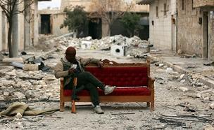 הסלמה בתקיפה בסוריה (צילום: רויטרס)