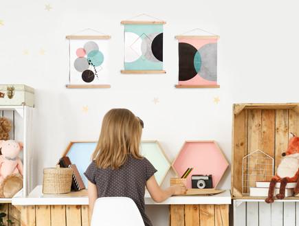 אקססוריז לחדרי ילדים, עיצוב אליאור בר-און