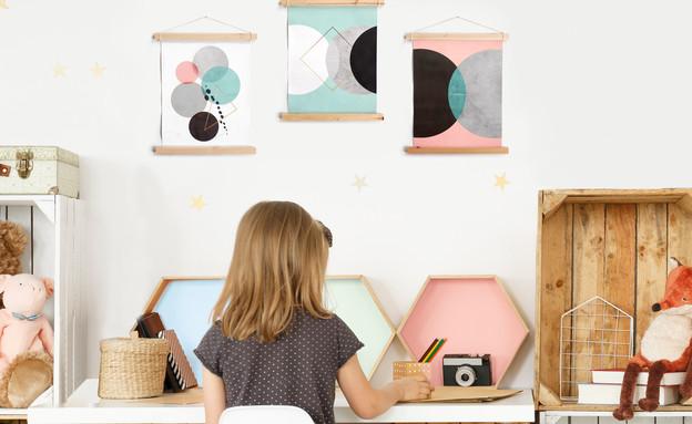 אקססוריז לחדרי ילדים, עיצוב אליאור בר-און (צילום: BaronPrints)