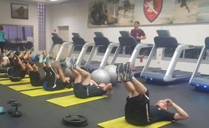 """מדריכת אימון גופני (צילום: דובר צה""""ל )"""