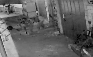 תיעוד ההריגה ביריחו (צילום: חדשות 2)