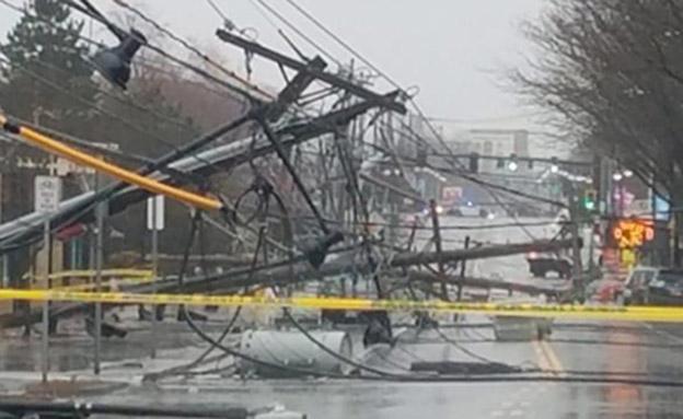 יותר ממיליון בלי חשמל (צילום: CNN)