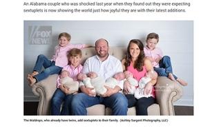 המשפחה המורחבת והמאושרת (צילום: פוקס ניוז)