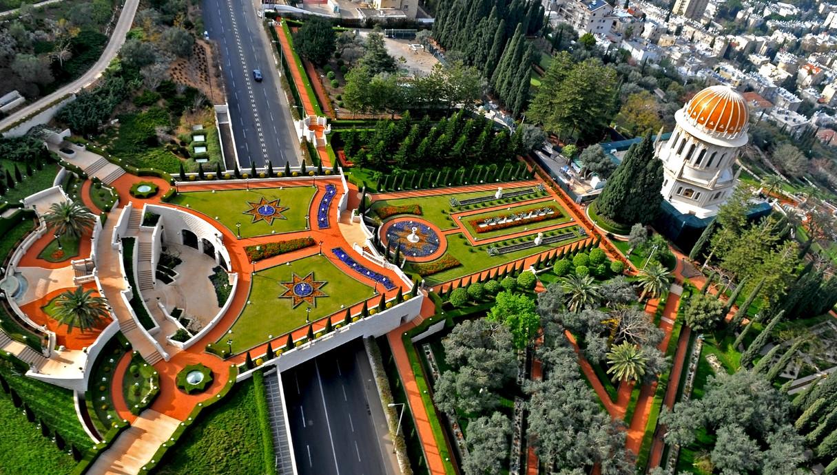 הגנים הבהאיים חיפה