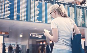 איחור לטיסה (צילום: Sergey Furtaev, shutterstock)