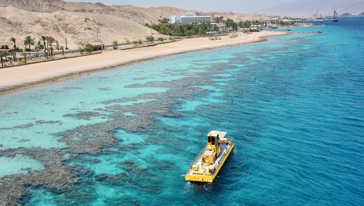 חוף האלמוגים באילת