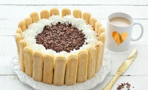 עוגת בישקוטים ופודינג שוקו-וניל - סגורה (צילום: ענבל לביא, אוכל טוב)