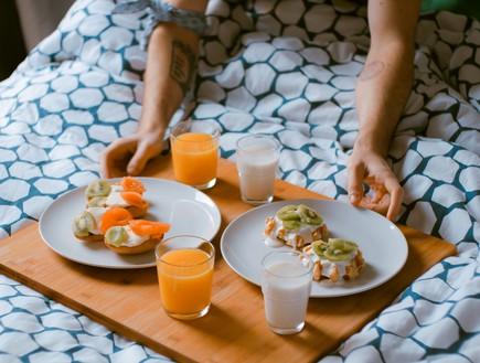 משקאות בריאות, חלב ותפוזים