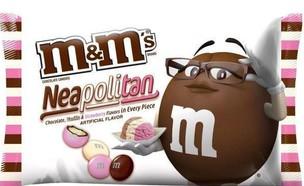 m&ms גלידה נפוליטנית (צילום: m&ms)