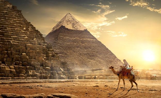 הפירמידה הגדולה של גיזה (צילום: givaga, shutterstock)