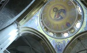 כנסיית הקבר מתוך אולפן שישי (צילום: צילום מסך)
