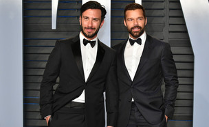 ריקי מרטין וחואן יוסף (צילום: Dia Dipasupil, Getty Images)