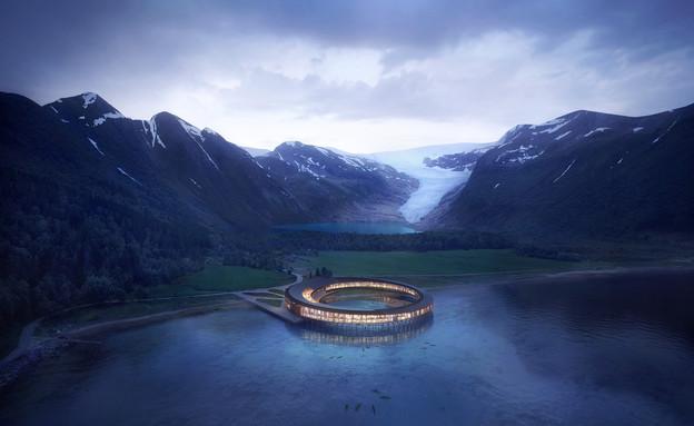 מלון Svart (צילום: Snøhetta)