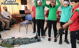 הצגת ילדים פלסטינים ברשות, ארכיון