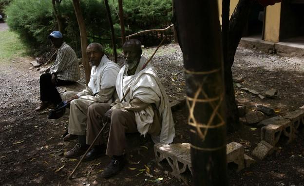 יהודי אתיופיה בגונדר (מאי 2007) (צילום: אוריאל סיני, getty images)