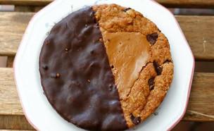 אווה ובתיה טבעון עוגיית שיבולת שועל ושוקולד (צילום: ריטה גולדשטיין, אוכל טוב)