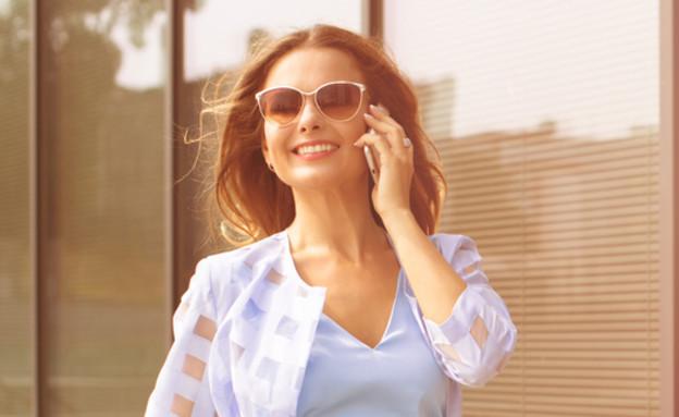 אישה עם בטחון עצמי (צילום: Shutterstock)