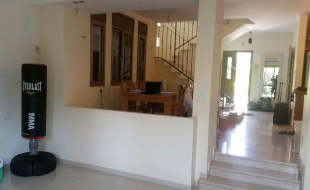 בית ברשלצ, עיצוב שלומית גליקס, לפני שיפוץ (צילום: צילום ביתי)