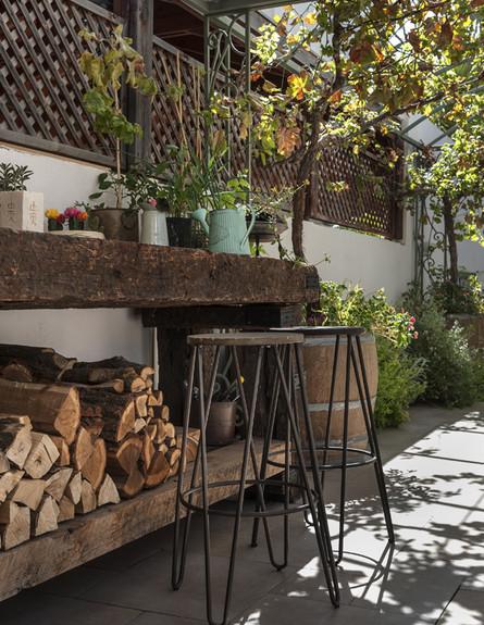 בית ברשלצ, ג, עיצוב שלומית גליקס, חוץ (צילום: עודד סמדר)
