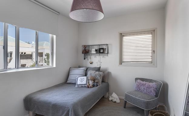 בית ברשלצ, עיצוב שלומית גליקס, חדר ילדים (צילום: עודד סמדר)