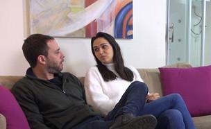 """אחווה סיטבון וטל כוכבא בראיון לאנשים (צילום: מתוך """"אנשים"""", קשת 12)"""