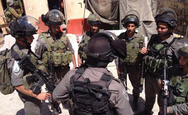 הפעילות לאיתור הנערים החטופים (צילום: פייסבוק משטרת ישראל)