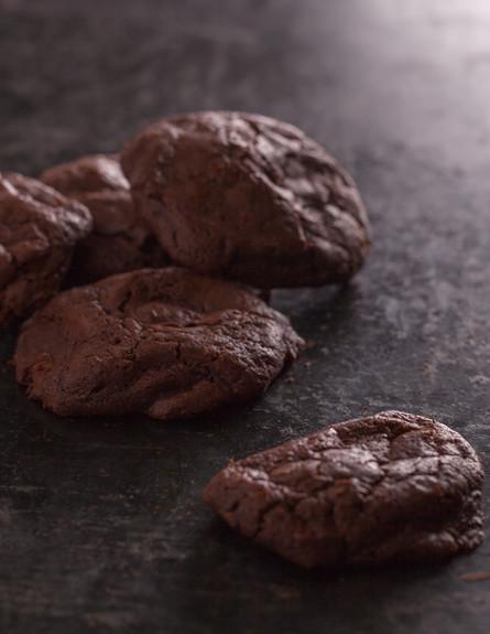 עוגיות פאדג' שוקולד בייקרי (צילום: עידית בן עוליאל, בייקרי)
