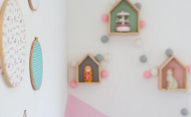 תל יוסף, עיצוב דלית שפרן, חדר ילדים (12) (צילום: שירן כרמל)
