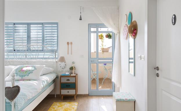 תל יוסף, עיצוב דלית שפרן, חדר שינה (4) (צילום: שירן כרמל)