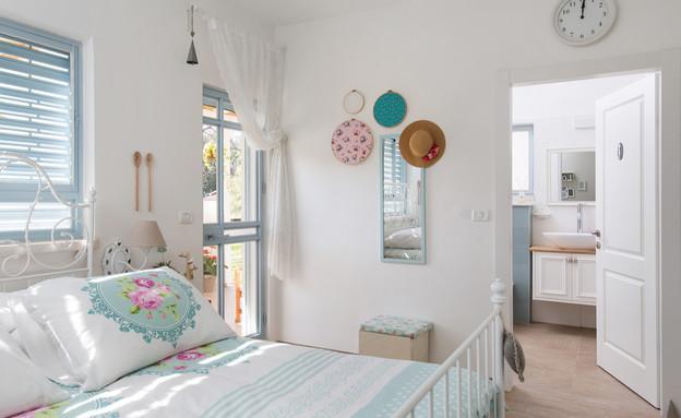 תל יוסף, עיצוב דלית שפרן, חדר שינה (6) (צילום: שירן כרמל)