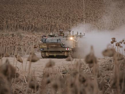 תקיפת טנקים בתגובה (ארכיון)