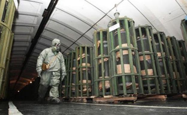 מתקן נשק כימי בסוריה (ארכיון) (צילום: רויטרס)