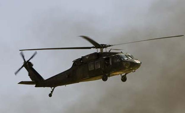 מסוק אמריקני התרסק במערב עירק (צילום: רויטרס)