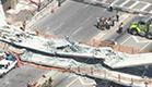 הגשר שקרס בפלורידה (צילום: חדשות 2)
