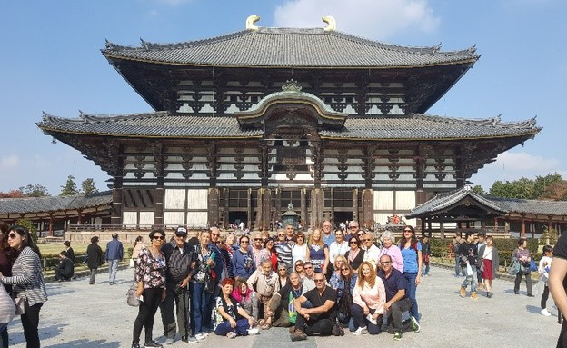 מקדש הזהב בקיוטומקדש טודאג'י בנארה (צילום: גיורא ברנט)
