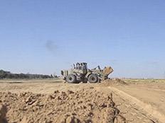 סיכול מנהרת טרור מרצועת עזה באזור כרם שלום (צילום: חדשות 2)